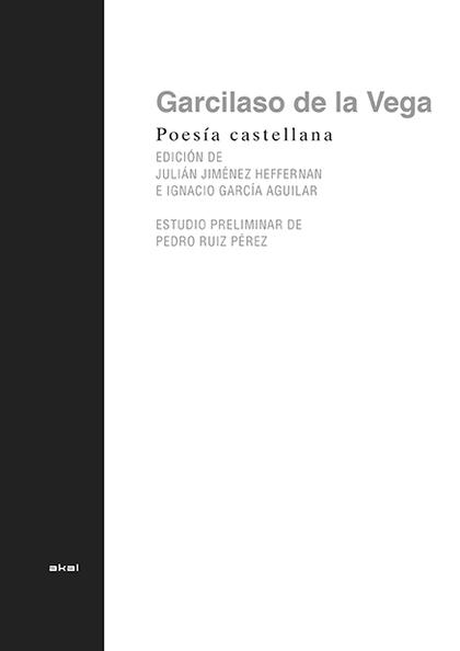 POESIA COMPLETA GARCILASO DE LA VEGA.