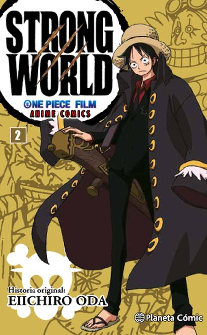 ONE PIECE STRONG WORLD Nº 02.