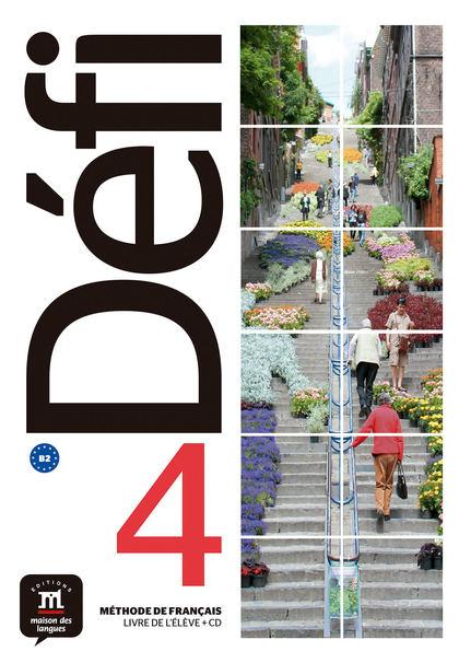 DEFI 4 NIVEL B2 LIBRO DEL ALUMNO + CD 2019.
