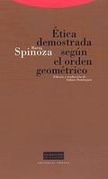 ETICA DEMOSTRADA SEGUN ORDEN GEOMETRICO CLA