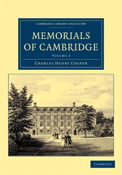 MEMORIALS OF CAMBRIDGE - VOLUME 2