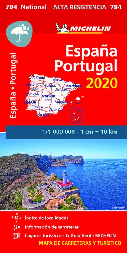 MAPA NATIONAL ESPAÑA - PORTUGAL 2020 ´ALTA RESISTENCIA´