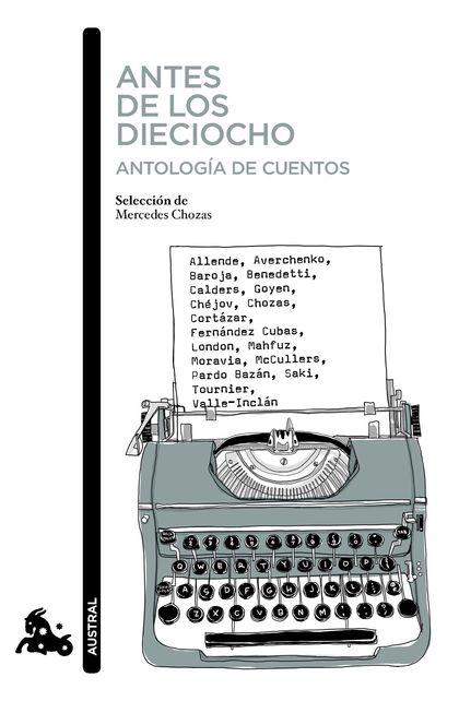 ANTES DE LOS DIECIOCHO. ANTOLOGÍA DE CUENTOS.