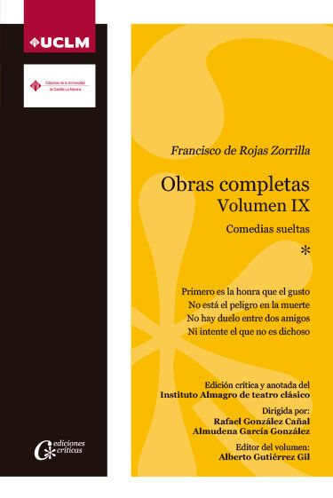 OBRAS COMPLETAS VOLUMEN IV COMEDIAS