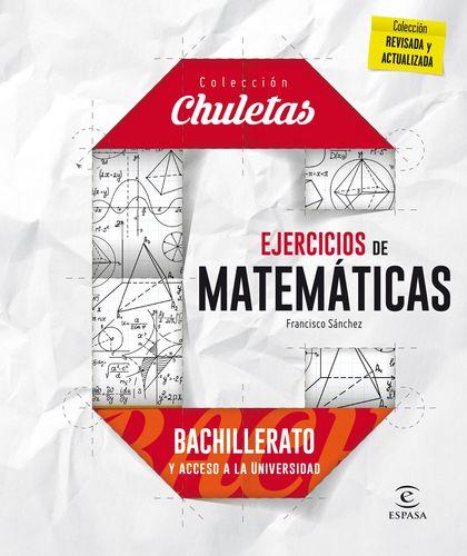 EJERCICIOS MATEMÁTICAS PARA BACHILLERATO.