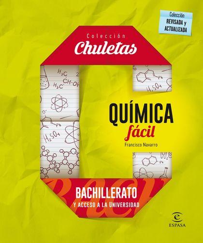QUÍMICA FÁCIL PARA BACHILLERATO.