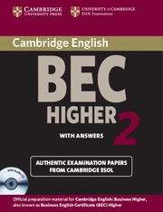 CAMBRIDGE BEC HIGHER 2 ST+CD SF