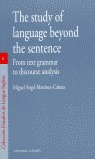 THE STUDY OF LANGUAGE BEYOND THE SENTENCE: FROM TEXT GRAMMAR TO DISCOU