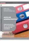 AUXILIAR ADMINISTRATIVO DE LA ADMINISTRACIÓN, COMUNIDAD AUTÓNOMA DE CANTABRIA. WORD 2003, GUÍA