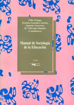 MANUAL SOCIOLOGIA EDUCACION