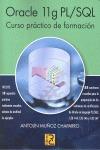ORACLE 11G PL/SQL : CURSO PRÁCTICO DE FORMACIÓN