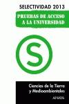 CIENCIAS DE LA TIERRA Y MEDIOAMBIENTALES, SELECTIVIDAD, PRUEBA ACCESO UNIVERSIDAD