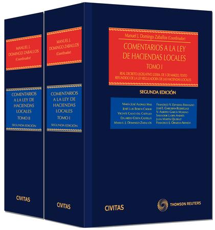 COMENTARIOS A LA LEY DE HACIENDAS LOCALES (2 TOMOS) (PAPEL + E-BOOK).