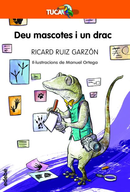 DEU MASCOTES I UN DRAC.