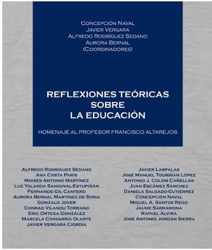 REFLEXIONES TEORICAS SOBRE LA EDUCACION.