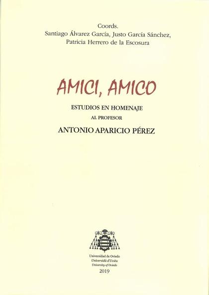 AMICI, AMICO                                                                    ESTUDIOS EN HOM