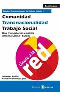 COMUNIDAD, TRANSNACIONALIDAD, TRABAJO SOCIAL 1 : UN TRIÁNGULO EMPÍRICO AMÉRICA LATINA - EUROPA