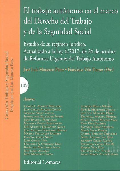 TRABAJO AUTÓNOMO EN EL MARCO DEL DERECHO DEL TRABAJO Y DE LA SEGURIDAD SOCIAL, E.