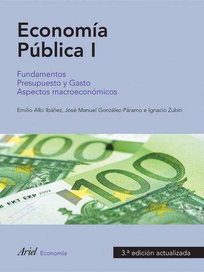 ECONOMIA PUBLICA I 3ª ED NE.