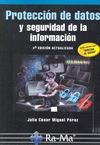 PROTECCIÓN DE DATOS Y SEGURIDAD INFORMACIÓN.