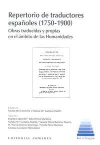 REPERTORIO DE TRADUCTORES ESPAÑOLES