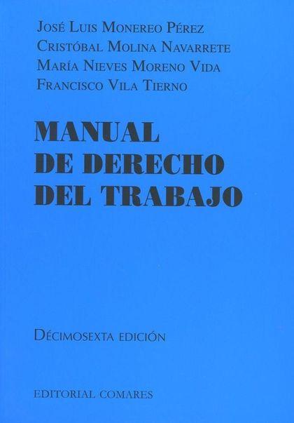 MANUAL DE DERECHO DEL TRABAJO 2018