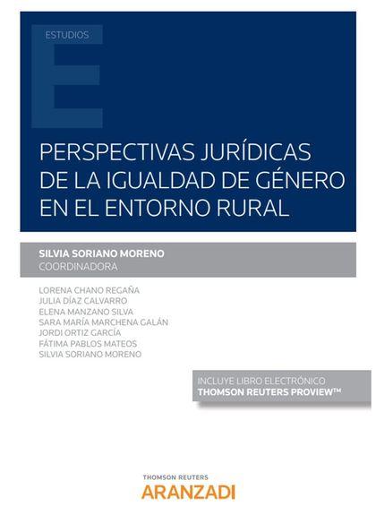 PERSPECTIVAS JURIDICAS DE LA IGUALDAD GENERO ENTORNO RURAL