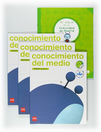 CONECTA CON PUPI, CONOCIMIENTO DEL MEDIO, 2 EDUCACIÓN PRIMARIA (MADRID)