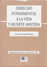 DERECHO FUNDAMENTQAL A LA VIDA Y MUERTE ASISTIDA