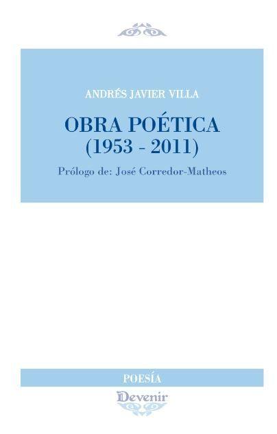 OBRA POETICA (1953-2011)