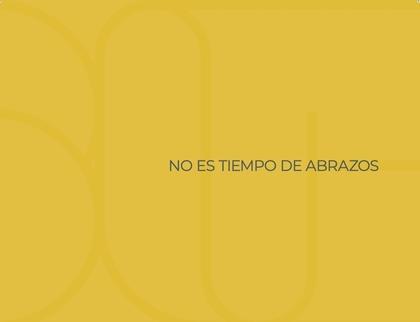 NO ES TIEMPO DE ABRAZOS. FOTOGRAFÍAS Y AFORISMOS