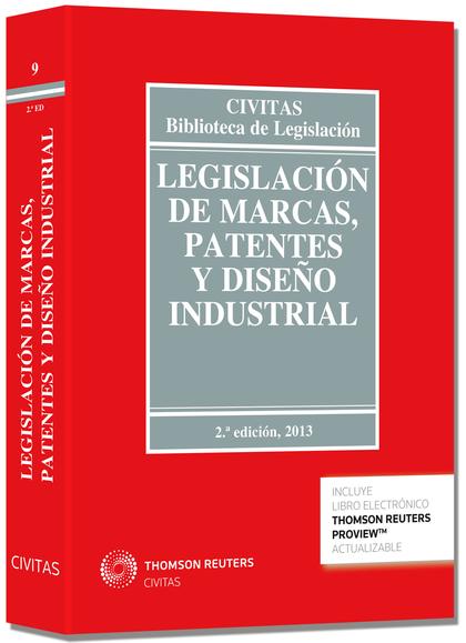 LEGISLACIÓN DE MARCAS, PATENTES Y DISEÑO INDUSTRIAL (PAPEL + E-BOOK).