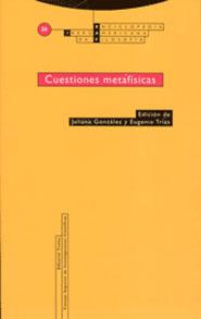 CUESTIONES METAFÍSICAS