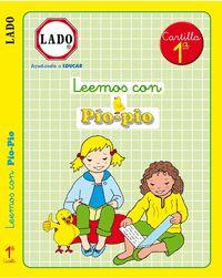 LEEMOS CON PÍO-PÍO, CARTILLA 1, EDUCACIÓN INFANTIL.