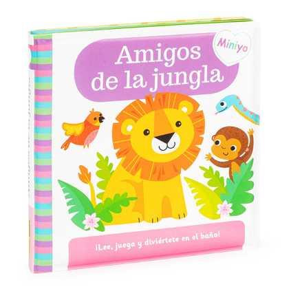 LIBRO BAÑO AMIGOS DE JUNGLA LEE Y JUEGA.