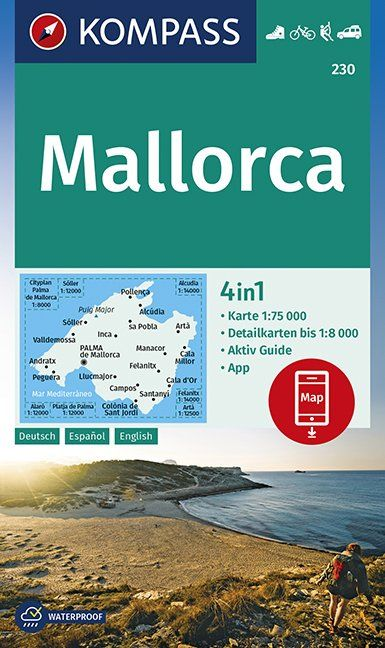 019 MALLORCA 4IN1 1:75 000 DEUTSCH ;ESPAÑOL; ENGLISH