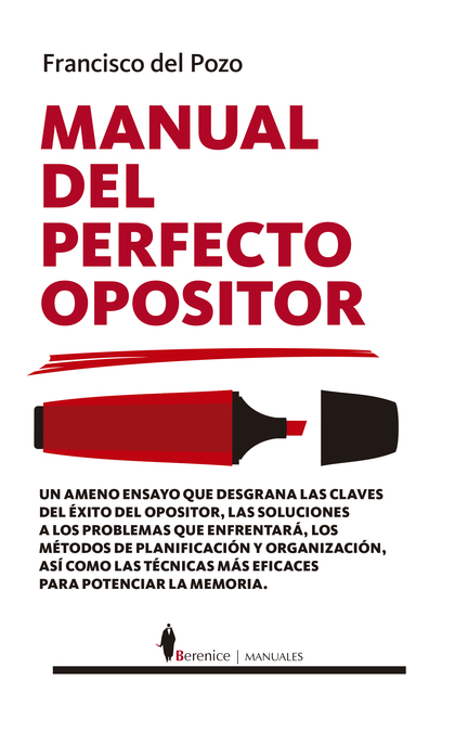 MANUAL DEL PERFECTO OPOSITOR.