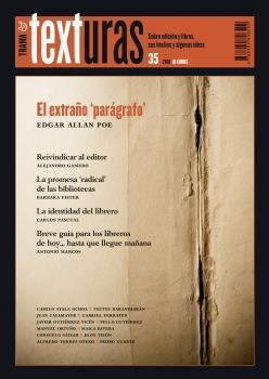 TEXTURAS 35: LA IDENTIDAD DEL LIBRERO.
