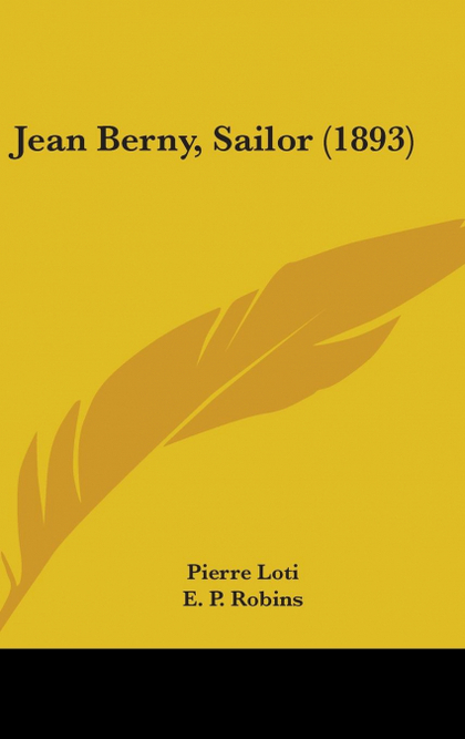 JEAN BERNY, SAILOR (1893)