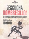 ¡ESCUCHA, HOMBRECILLO! : DISCURSO SOBRE LA MEDIOCRIDAD