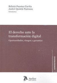DERECHO ANTE LA TRANSFORMACION DIGITAL OPORTUNIDADES RIES