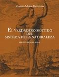 EL VERDADERO SENTIDO DEL SISTEMA DE LA NATURALEZA