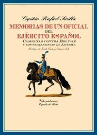 MEMORIAS DE UN OFICIAL DEL EJÉRCITO ESPAÑOL                                     CAMPAÑAS CONTRA