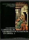 PINTURA DE LOS PRIMITIVOS FLAMENCOS EN ESPAÑA. TOMO I, LA ( ).