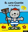 EL GATO CHATÓN EN LA PLAYA