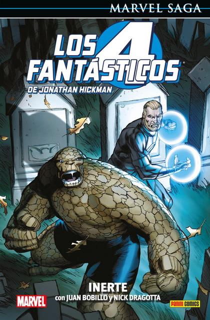 LOS 4 FANTÁSTICOS DE JONATHAN HICKMAN 08: INERTE.
