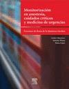 MONITORIZACIÓN EN ANESTESIA, CUIDADOS CRÍTICOS Y MEDICINA   DE URGENCIAS.