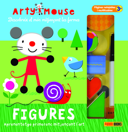 ARTY MOUSE - FIGURES.