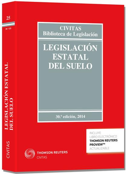 LEGISLACIÓN ESTATAL DEL SUELO (PAPEL + E-BOOK).