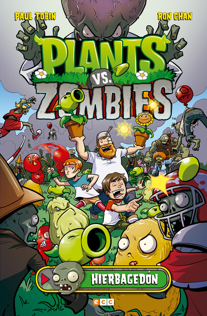 PLANTS VS ZOMBIES HIERBAGEDON